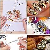 PANDAFLY 18 Pieces Fine Detail Paint Brush