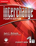 Interchange Level 1 Student's Book B with Self-Study DVD-ROM, Jack C. Richards, 1107673968