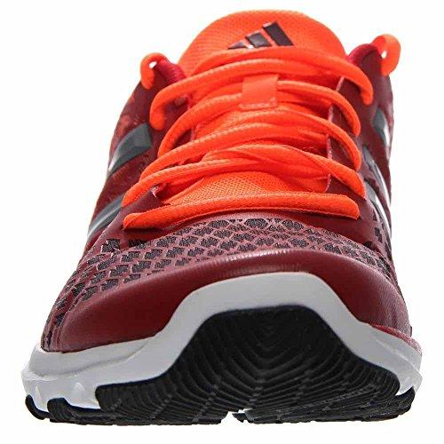 adidas Performance Herren Adipure Primo Trainingsschuh Power Rot / Eisen Metallic Grau / Kastanienbraun