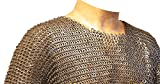 8 mm Chainmail Hauberk XL Medieval Chainmail Shirt
