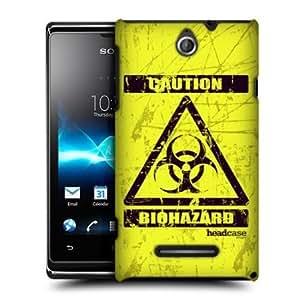 Quaroth - Head Case Bio Hazard Symbol Design Back Case Cover For Sony Xperia E Dual C1605