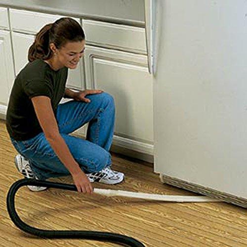 Gadjit Exten Vac Flat Vacuum Cleaner Attachment Gray