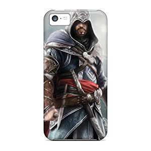 Waterdrop Snap-on Assassins Creed Iii Case For Iphone 5c