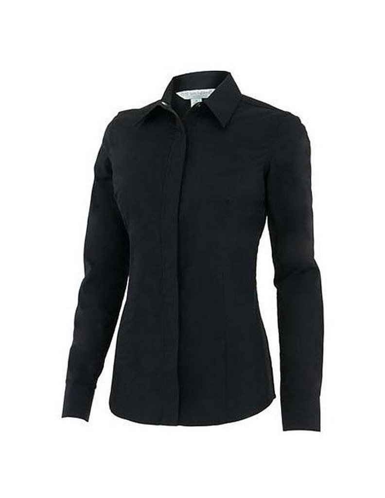Noble Outfitters Western Perfect Fit Show Shirt (Black, Medium)