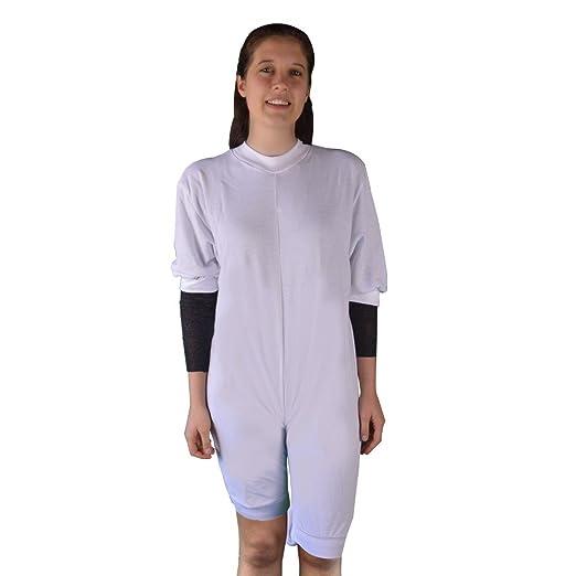 Pijama antipañal de punto (invierno) manga y pierna corta | Talla M: Amazon.es: Hogar