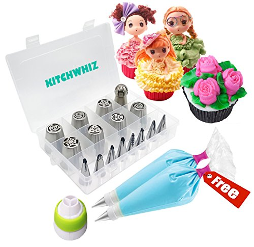 Russian Piping Tips -The ONLY Cake Decorating Tips kit with