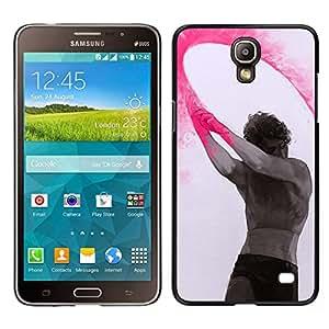 EJOY---Cubierta de la caja de protección para la piel dura ** Samsung Galaxy Mega 2 ** --Pintura Arte Indio Holiday Hombre