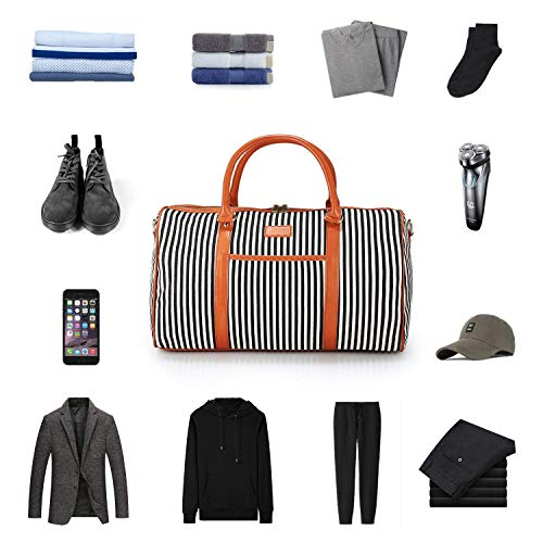Waterproof Gym Multi functional Holdall Shoulder Handbag Canvas Women Travel Messenger Large Bag Sports Mutang 0qwZgg
