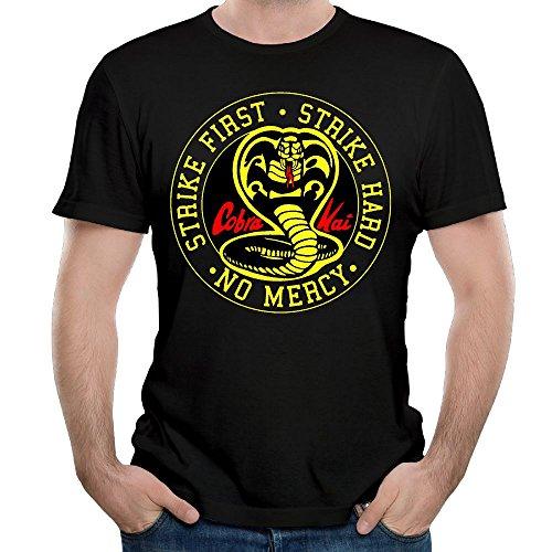 e101b463a Cobra Kai Karate Dojo Men's Custom T-Shirt Fashion Short Sleeve Shirt