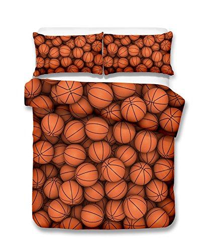 Full de baloncesto 3d juego de ropa de cama de funda nórdica ...