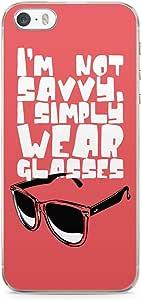 iPhone 5S Transparent Edge Phone case Glasses Phone Case Savvy iPhone 5 Case with Transparent Frame
