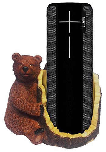 Price comparison product image FitSand(TM) Brown Bear Crafted Statue Speaker Holder Stand Guard Station for UE BOOM 2 Wireless Bluetooth Speaker