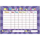 Weekly Chore Chart Children Behaviour Parent Kid