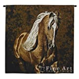 Golden Boy Horse Wall Tapestry
