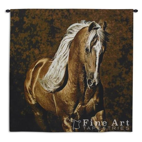 Golden Boy Horse Wall Tapestry