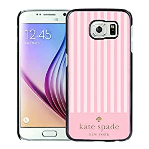 Unique And Nice Designed Kate Spade Cover Case For Samsung Galaxy S6 Black Phone Case 126