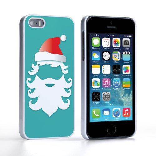 Caseflex iPhone 5 / 5S Case Christmas Santa Claus Hard Cover