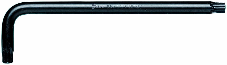 BlackLaser Wera TORX HF 967 L HF TORX L-key TORX Key with holding function TX 8 x 76mm L-key Pack of 5