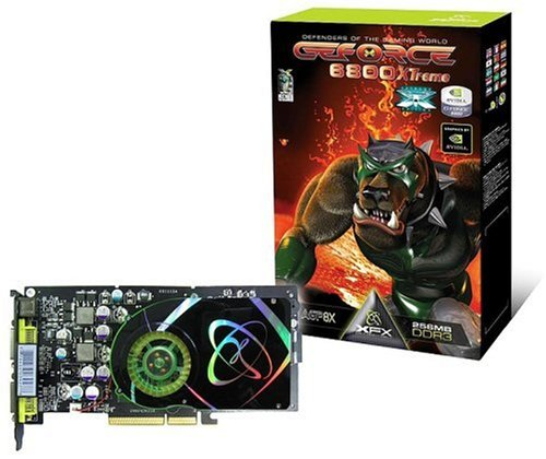 Geforce Nvidia 6800 Gpu (XFX GeForce 6800 XTreme 256MB DDR3 AGP ( PVT42KUDE3 ))