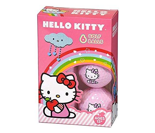 Hello Kitty Golf The Collection Golf Balls Individual Box 6 Balls
