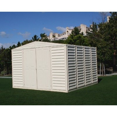 Duramax Model 00211 10x8 Woodbridge Vinyl Storage Shed Duramax Vinyl Outdoor Shed