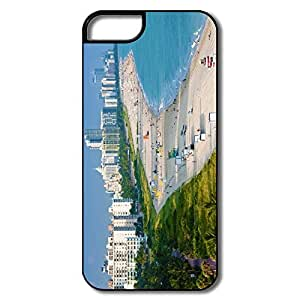 PTCY IPhone 5/5s Personalized Vintage Aerial View Miami Beach