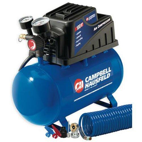 Campbell Hausfeld FP209000DI 2 Gallon, Air Compressor, Horizontal Tank