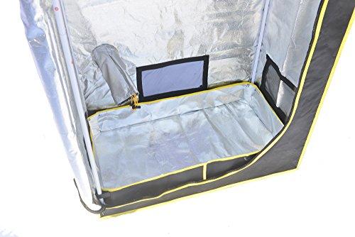 "51QtuVgbaqL - Grow Tent,Smart 35""x 20""x 62"" Horticulture D-Door Reflective Mylar Hydroponics Indoor Grow Tent Non Toxic Grow Room for Early Seedling Starters 3'x6'"