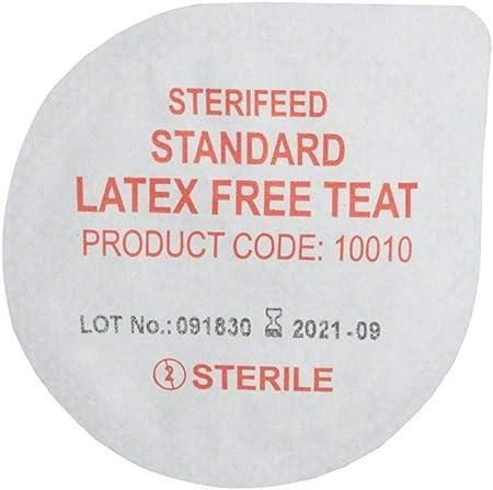 Pack de 10 Sterifeed Standard stérile Bébé Tétine-jetables Sans Latex