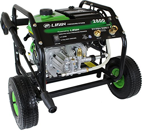 Lifan LF2865 LFQ2865 Storm Pressure Washer, 2800 PSI For Sale