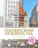 img - for Coloring Book of Boston, USA. New Edition. book / textbook / text book