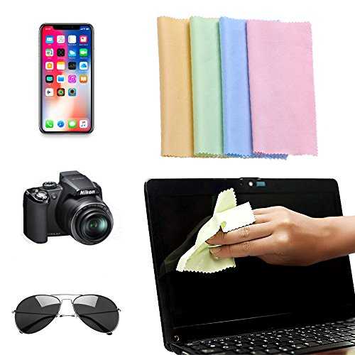 Electronic Product Cleaner Putty With Free Gift Microfiber Cleaning Cloth (4PCS Microfiber Cloth)