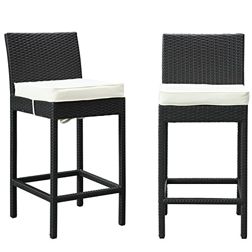Cheap Modway LexMod Lift Patio Chair Bar Stools, Set of 2