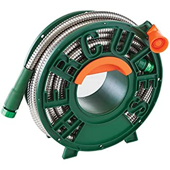 The Best Garden Hose As Seen On Tv Heavy Duty Stainless Steel Tangle Resistant And