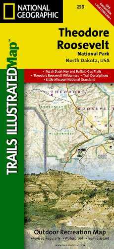Theodore Roosevelt National Park (National Geographic Trails Illustrated Map) ()