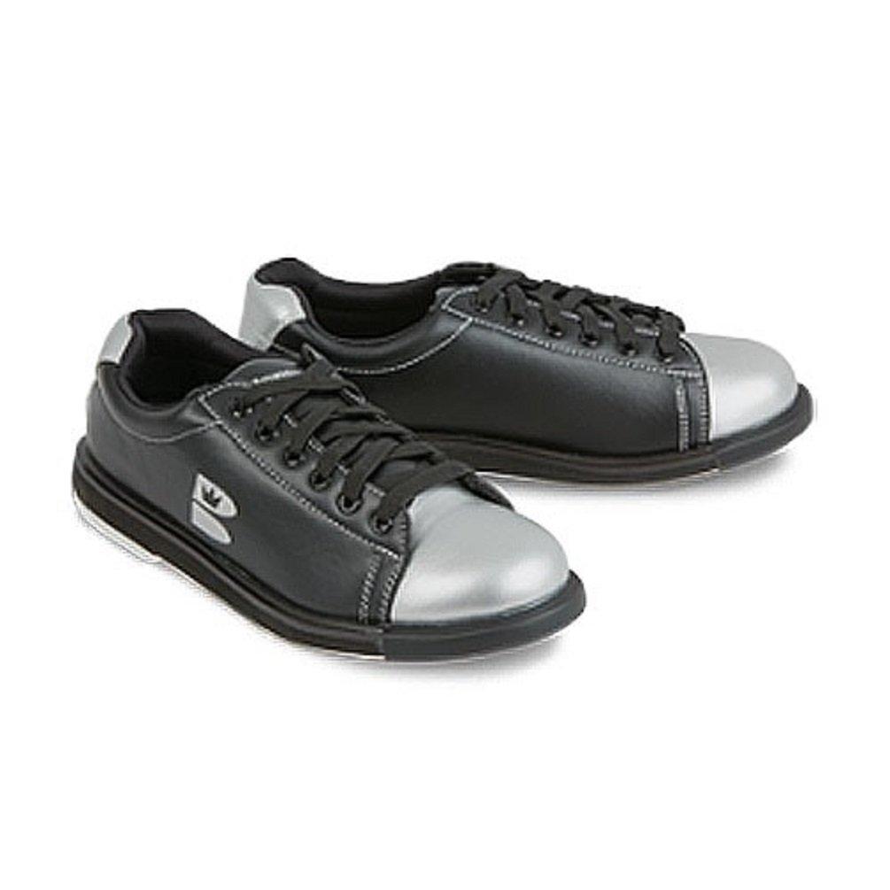 TZone Unisex Black/Silver Size 5.5/7 Brunswick Bowling Products 58-001321055