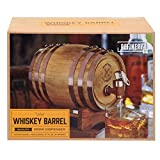 Refinery Wooden Whiskey Barrel Dispenser and Stand - Oak