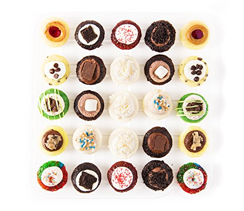 Baked by Melissa The Latest & Greatest Assorted Bite-Size Cupcakes, 25 Count