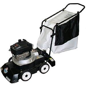 Patriot Products CVB-2465B 24-Inch Briggs & Stratton Gas Powered Walk Behind 3-In-1 Leaf Vacuum/Chipper/Blower