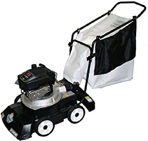 Patriot Products CVB-2465B 24-Inch Briggs & Stratton Gas Powered Walk Behind 3-In-1 Leaf Vacuum/Chipper/Blower