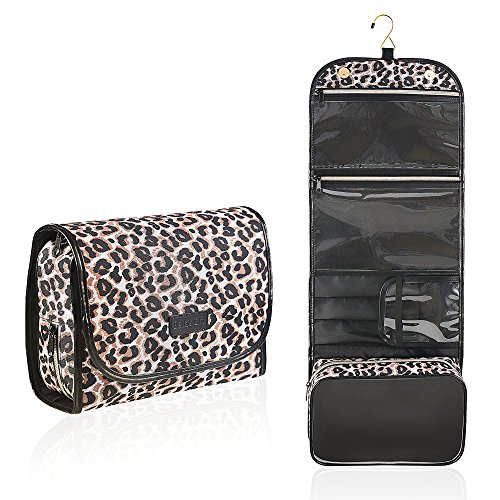 Bella's Gift Hanging Travel Toiletry Bag Cosmetic Makeup Organizer for (Bella Bag)