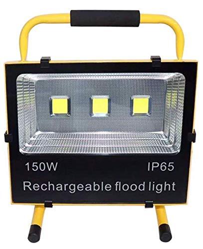 LED投光器 充電式 LEDライト 作業灯 150w 超高輝度 B07S9K47ZS