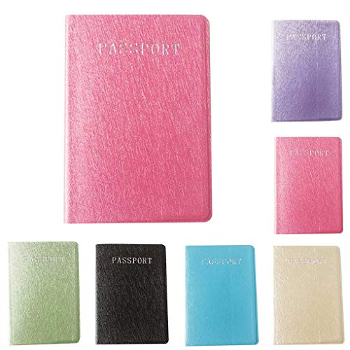 Mailfoulen Multiuso Carta Con Viaggio Del Passaporto Caso In Credito Supporto Protactive Pink Pelle Pu Copertura Raccoglitore Di Bank Da S80x8grqw
