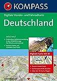 Deutschland 3D: Digitale Wander-, Rad- und Skitourenkarte (KOMPASS Digitale Karten, Band 4300)