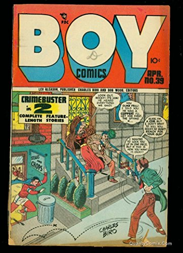 Boy Comics #39 FA/GD 1.5