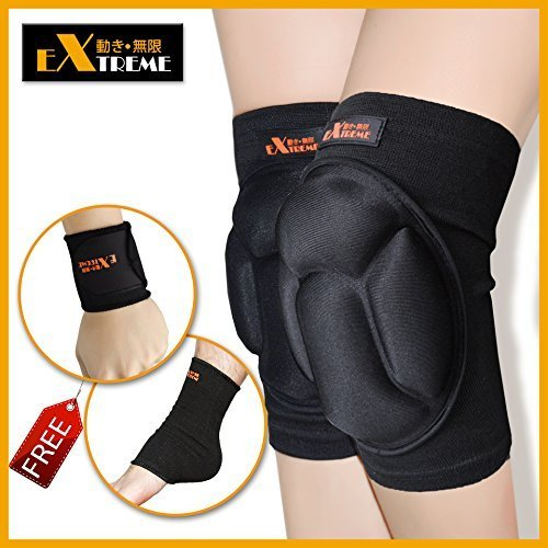 Judo Costume (Motion Infiniti - Best Volleyball Knee Pads - No More Bruises with This Multi-purposed Knee Pads - Premium Made for Flooring, Gardening and Wrestling Knee Pads- 100% Money Back Guarantee!)