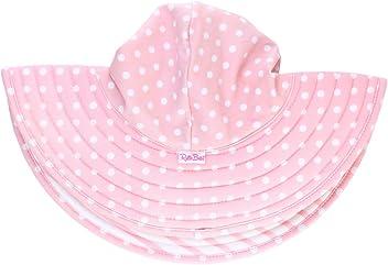 Sun Protective Wide Brim Swimswear Sun Hat RuffleButts Girls UPF 50