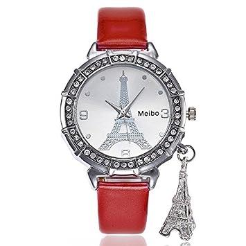 Amazon.com: Kstare - Reloj de cuarzo para mujer, diseño de ...