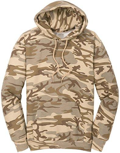 Joe's USA Camoflauge Hoodies - Camo Hooded Sweatshirts in Sizes S-4XL