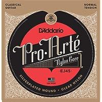 Cuerdas de guitarra clásica D'Addario Pro-Arte Nylon, tensión normal EJ45